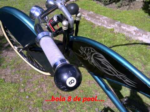 Mis bicicletas tuneadas al piso!   ** CHOPPERA - TUNING **   HD