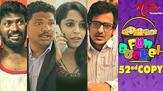 Fun Bucket   52nd Copy   Funny Videos   by Harsha Annavarapu   #TeluguComedyWebSeries - TELUGUONE
