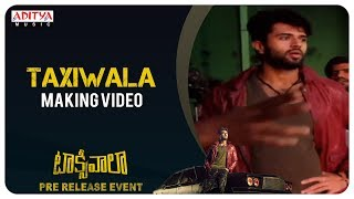 Taxiwaala MAKING Video | Taxiwaala Movie | Vijay Deverakonda, Priyanka Jawalkar - ADITYAMUSIC