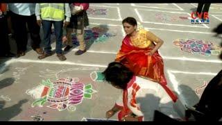 Sankranthi Festival Celebrations Starts in Telugu States | CVR News - CVRNEWSOFFICIAL