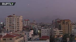 Israel's Iron Dome intercepts rockets launched from Gaza - RUSSIATODAY