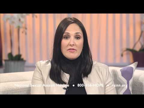 Ricki Lake for RAINN: It's never too late to get help.