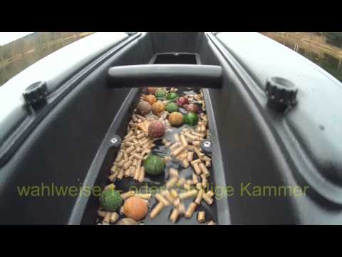 Carp Madness XXL offizielles Video  Baitboat Futterboot