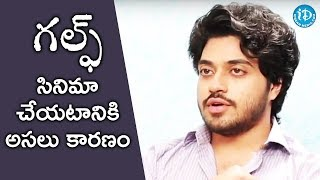 That's The Main Reason For Doing Gulf Movie - Chetan Maddineni || Talking Movies || #Gulf - IDREAMMOVIES