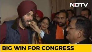 Congress Sweeps Civic Body Polls In Amritsar, Jalandhar, Patiala - NDTV