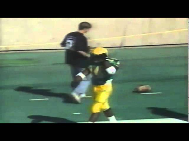 Oregon RB Ricky Whittle 23 yard gain on pass catch vs. Pacific 10-07-1995