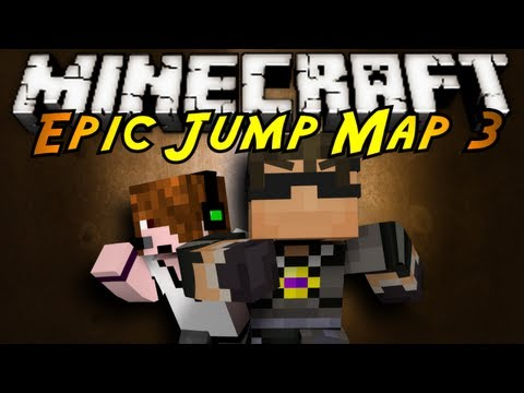 Minecraft: Epic Jump Map 3 Part 1!