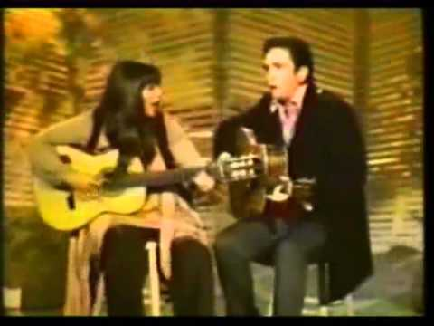 Melanie & Johnny Cash - Silver Threads & Golden Needles