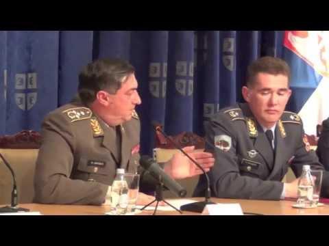INTEGRLANI SNIMAK: Konferencija za medije povodom pada helikoptera Mi 17