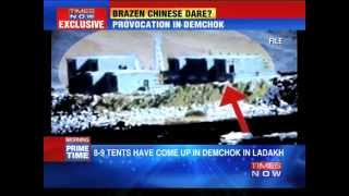 Chinese incursion along Indian side of LAC - TIMESNOWONLINE