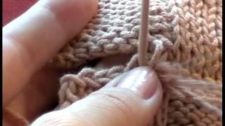 5 Трикотажные швы Как сшить два трикотажных полотна с закрытыми петлями. Knitting seams. #knitting