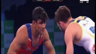 PWL 3 Day 12: Soslan Ramonov Vs Harphool Gulia at Pro Wrestling League season 3   Full Match - ITVNEWSINDIA