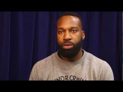Baron Davis on the Warriors