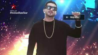 India's Raw Star Promo - Yo Yo Honey Singh with artists you can never skip! - STARPLUS