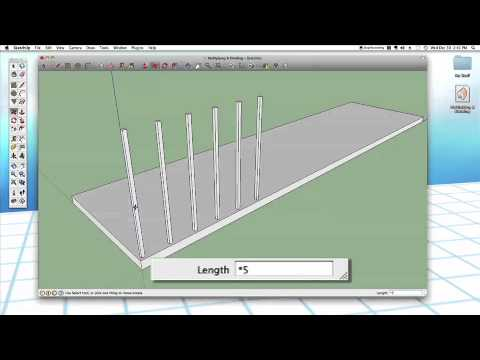Sketchup #23: Multiply & Divide