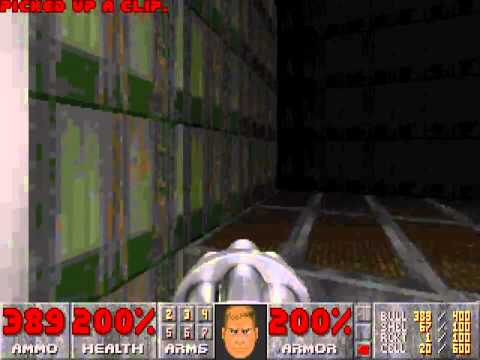 Bashe Plays Doom Again (20th Anniversary) - E1M2: Nuclear Plant