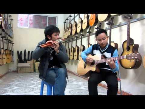 con bướm xuân cover sáo mèo + guitar Mão Mèo, Văn Anh that's good!   YouTube
