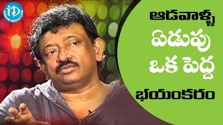 Tears Are Woman's Most Powerful Weapon - RGV || Ramuism 2nd Dose || RGV Weeping - IDREAMMOVIES