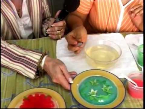 Preparación de la gelatina para inyectar.