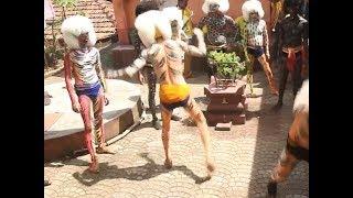 Dussehra: Traditional 'tiger dance' marks festival of Navratri in Karnataka - TIMESOFINDIACHANNEL