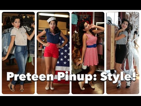 Teenage Pinup Part Three: Back to School Style! by CHERRY DOLLFACE
