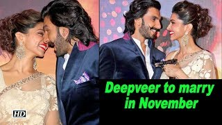 Deepika, Ranveer to marry in November; Celebs wishes them - IANSLIVE