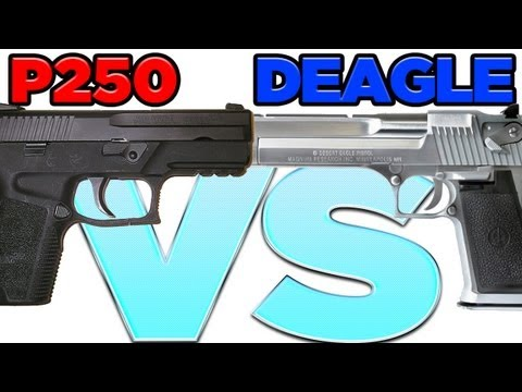 CS:GO Desert Eagle VS. P250: Which Gun is Better for Competitive Gameplay & Spectatorship?...