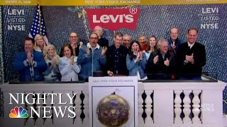 Looking Back On Levi Strauss's Legacy As Iconic Brand Goes Public | NBC Nightly News - NBCNEWS
