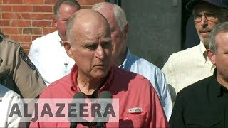 California wildfires one of 'greatest tragedies in state history': Gov. Brown - ALJAZEERAENGLISH