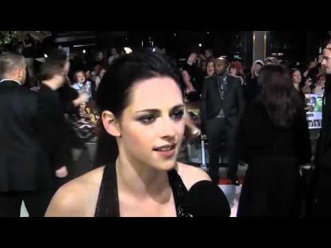 Kristen Stewart Interview: Breaking Dawn UK Premiere