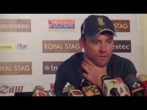 AB de Villiers Post Match Press Conference - 3rd ODI South Africa v Sri Lanka