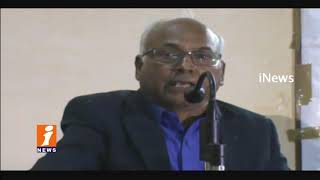 Prof Kancha Ilaiah Participates Indian English Day Celebrations In OU | Hyderabad | iNews - INEWS