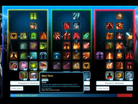 SWTOR Bounty Hunter Mercenary Build - High Damage Build For Leveling