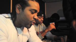 Jim Jones Ft Wyclef: God Bless The Child In Studio Performance