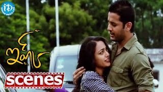 Ishq Movie Scenes - Nithin Making Fun Of Nithya Menon || Sindhu Tholani - IDREAMMOVIES