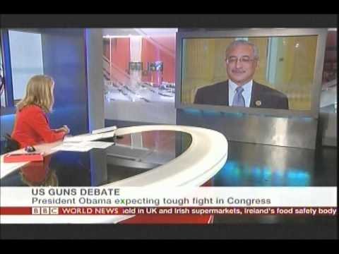 Scott Discusses Gun Safety on BBC World News America