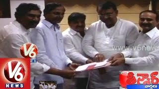 CM KCR signed on crop loan waiver file - Teenmaar News - V6NEWSTELUGU