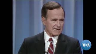 President Bush's Statesman Legacy Complicated by Divisive Politics - VOAVIDEO