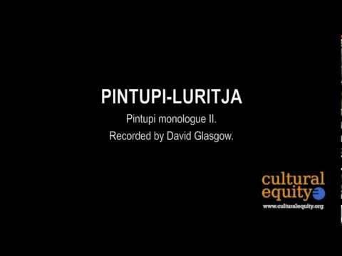 Parlametrics: Pintupi-Luritja II