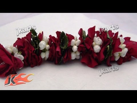 DIY Gajra Traditional Indian Garland 5 JK Arts 180