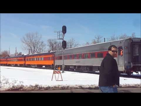 Milwaukee Road 261 test runs 4-20-13