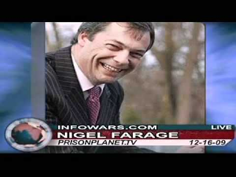 European Union/New World Order Formation - Nigel Farrage on Alex Jones Show