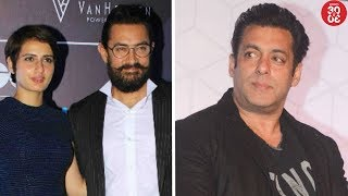 Aamir Confused About Kissing Fatima? | Salman Replaces Priyanka As The Face Of A Soft Drink Brand - ZOOMDEKHO
