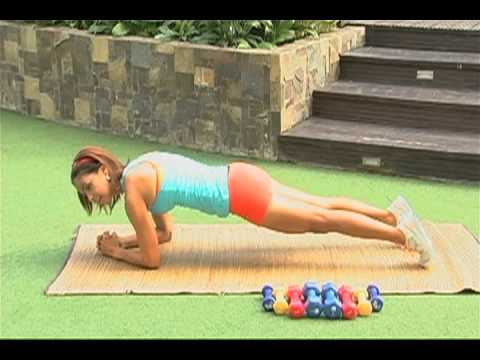 DyanFit 10-Minute Workout For Strong & Flat Abs