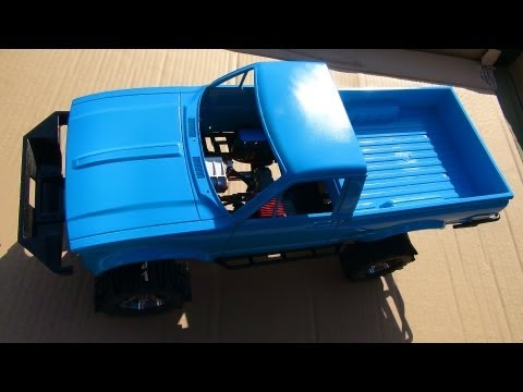 RC ADVENTURES - (Basic) How to Spray Paint an RC - RC4WD Trail Finder 2 - 4x4 Truck Upgrade PT 3