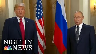 Russian TV Praises Vladimir Putin After President Donald Trump Meeting   NBC Nightly News - NBCNEWS