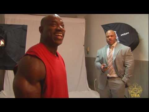 Dexter Jackson Photo Shoot & Interview After Winning the 2013 Arnold Classic