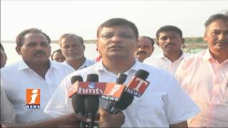 TRS MLA Jalagam Venkat Rao Inspect On Development Works In Sujatha Nagar | Kothagudem | iNews - INEWS