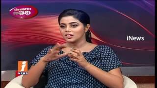 Rakshasi Movie Heroine Poorna Exclusive Interview | Evaram Athidi | iNews - INEWS