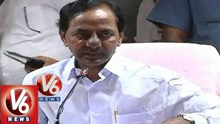 KCR Fires on Chandrababu Naidu - Over power problems - V6NEWSTELUGU